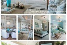 Decoración casa playa