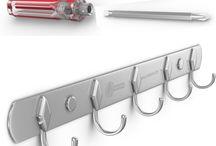 Best Stainless Steel 5 Hook Rack