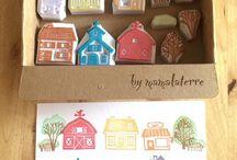 ev yapımı mühür - stamp