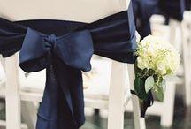 Marque chaise nœud bleu