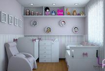 Idéias p/ quartos de bebês!