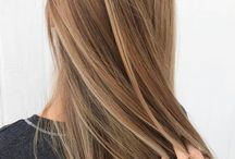 Ruskeat hiukset