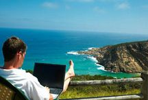 On-line is the most popular place to start your business / by Christine Beldon