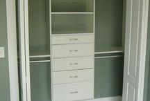Closet, wardrobe
