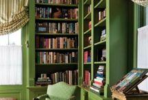 Bookshelves & Libraries / by Christine Bode
