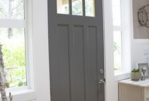 Front Doors / Inside or out....Front door ideas