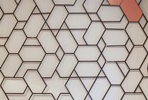 Laser cut pattern,screening,partition