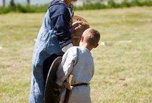 Børne vikingedragter / Vikinge dragter til børn