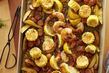 Sheet Pan Dinners (and Desserts)