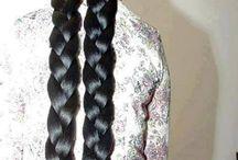 Gaya rambut panjang