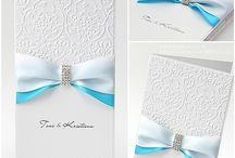 WEDDING CELEBRATION TIFFINY BLUE......INVITES, CARDS, FAVOURS AND THE LITTLE THINGS.