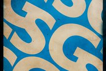 typeface posters