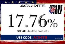 4th of July / Get 17.76% off ALL AcuRite Products from 6/30 to 7/7