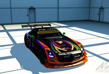 Deltec Racing Design Mercedes SLS-GT3 / Deltec Racing Design Mercedes SLS-GT3