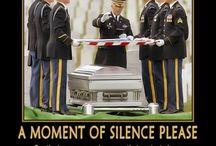 honoring our fallen heroes / by amanda barton