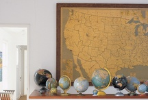 Maps Globes Love / by Corinne Smith
