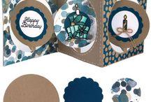 accordion circle card elizabeth craft designs