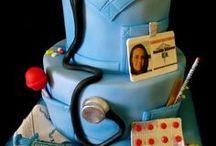 для медиков торт