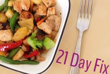 21 day fix lunch/dinner / by Mary Goll