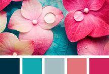 paletas de cores madrinha