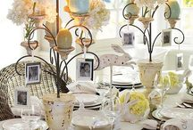 table top ideas / by Ginger Weyland