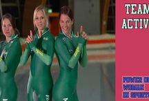 Speed Skating / Sexy Womens in Speed Skating