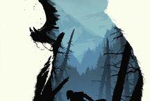 ILLUSTRATIONS - Vinter poster