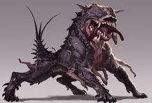 Cerberus, Lilith's Tortured Bitch & Houndboars