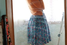 Vintage Dresses & Cardigans