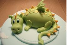 Dragon Cake / by Fancy Fondant Cakes by Emily Lindley