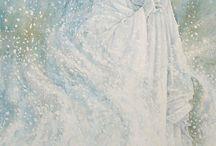 snedronningen illustrert / Illustrasjoner av H.C. Andersens eventyr Snedronningen