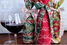 fabric wine bags