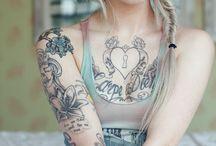 Tattooed Beauties / All the beautiful tattooed people.