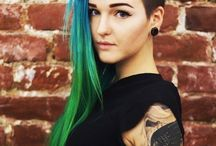 Hair Colors:)
