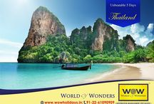 WOW Thailand 2016 / Best Thailand packages from WOW Holidays