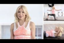 Abs / Ab exercises mainly recommended by Tracy Anderson