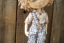 RAG DOLLS / CLOTH DOLLS - SOFT DOLLS - PLUSH DOLLS
