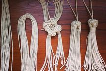 Knots and tassels
