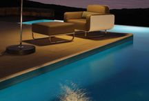 Utemøbler / Lounge og spisebord til hytta.