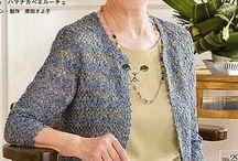 婦人用編み物