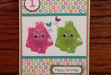 Card Creations by Donna's Crafty Heart / My handcrafted Card creations!