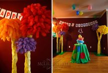 ideas for autumns lorax themed bday