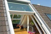 ideen dachgeschoss balkon