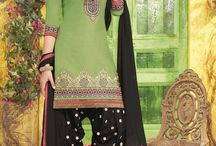 Pure Cotton Unstitched Patiala Salwar Suit- Online Shopping for Dress Material by Angel Enterprise