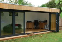 Garden Rooms / Maximising interiors by taking up valuable garden space? If it works for you and your family go for it.
