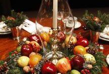 Christmas & table settings