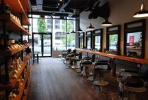 Cool barbershop / Good design