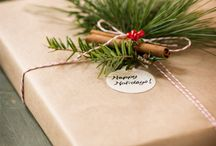 Gift Wrap Ideas / by Logan Wolfram
