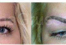 permanentný make-up / trvalé líčenie, dopigmentovanie chýbajúceho obočia...úprava očí permanentnými linkami či zvýraznenie pier kontúrou či úplným vyfarbením...
