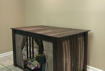 Home made dog crate ideas